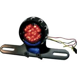 Drag Specialties 2010-0797 Custom Bobber Led Taillight And License Plate Mount