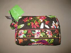 "NWT Vera Bradley English Rose Small Cosmetic 4"" x 6.5"" x 1.25"" GIFT $30.00"