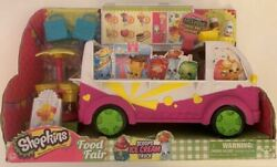 Shopkins S3 Scoops Ice Cream Truck Retired Exclusive Shopkins And Bags