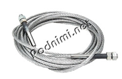 Steel Cable For Elevators Manipulators Garbage Trucks Winches And Other Equip