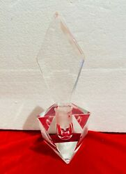 Antique Perfume Bottle - Lead Crystal Cut Glass Gift For Her - Glass Collector