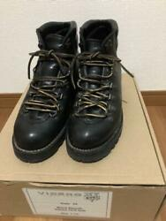 Viberg Style 68 Black Smooth Leather Boots Uk 7.5 About 26.5cm Used From Japan