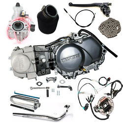 Lifan 125cc 4 Stroke Motor Engine Air Cooled For Crf50 Z50 Pit Bike Ssr Apollo