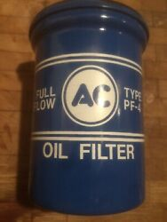 Vintage Nos Corvair Oil Filter Ac/gm Pf 4 With Sealed Washer Envelope