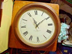E..howard And Co. Boston Antique Round Oak Slave Clock No Movement --- Pickup Only