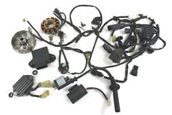 2015 Yamaha Yz250f Fuel Injection Wire Harness With Flywheel Stator Coil Ecm