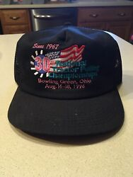 Vintage 1996 National Tractor Pulling Championship Mesh Hat Made In The Usa
