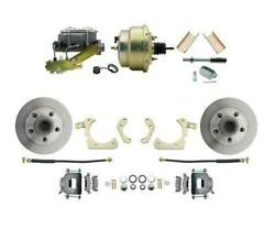 1955-57 Chevrolet Bel Air Front Disc Brake Conversion Kit W/ 8and039and039 Booster Bdc0001
