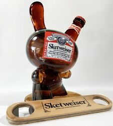 Signed Sket One Sketweiser 8 Inch Dunny. Brand New Sold Out Very Rare