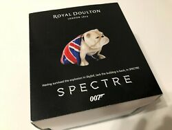"Royal Doulton Spectre Bulldog ""Jack"" James Bond DD007M"