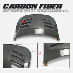 For Toyota Ft86 Fit Subaru Brz Vrs1 Style Double Side Carbon Vented Front Hood