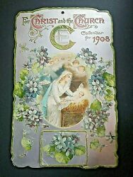 For Christ And The Church Calendar For 1908 Bible Reading Verses By The Days