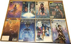 Soulfire And Fathom Comic Book Lot. 42 Issues And 1 Trade Paper Back