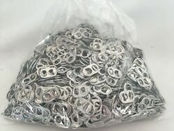 1800 Aluminum Silver Pull Tabs Pop Tops From Soda And Beer Cans Crafts