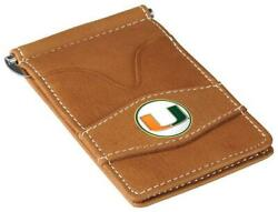 Miami Hurricanes Tan Officially Licensed Player Wallet