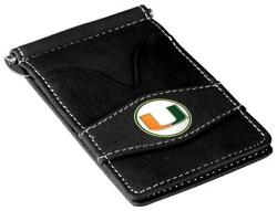 Miami Hurricanes Officially Licensed Black Players Wallet
