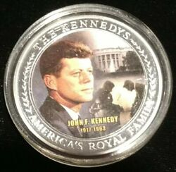 John F. Kennedy Family Tree Medal Coin Token Americaand039s Royal Family Fitzgerald