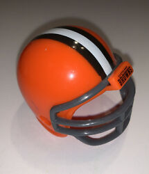 Cleveland Browns Nfl Mighty Racers Mini Football Helmet 2-1/4 Front To Back