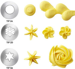 Wilton Icing Decorating Tips / Nozzles 1m Or 2d Or 2a Newgreat For Cupcakes