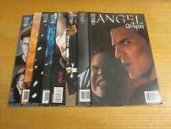 Angel Lot Of 8 Idw 2005-2009 Comic Books Smile Time, Old Friends, The Curse