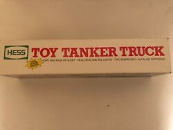 1990 Hess Toy Tanker Truck 100 New-in-box