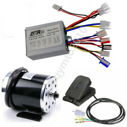 500w 24v Electric Motor Speed Controller Throttle Pedal For Go Kart Bicycle Atv