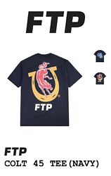 New In Packaging Ftp X Colt 45 Navy T Shirt Size Large