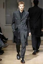 Yohji Yamamoto Pour Homme Menand039s Wool Gabardine Doctor Jacket F/s From Japan