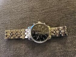 Rare Roman Numerals Tissot Prc 200 36mm 200m/660ft Stainless Steel Watch T 461