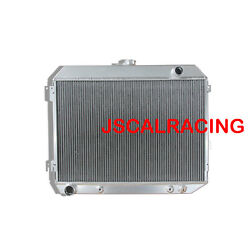 3row Aluminum Radiator Fit Dodge Challenger Charger Coronet 70-74 52mm 375