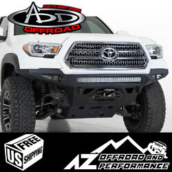 Stealth Fighter Winch Front Bumper For 2016-2021 Toyota Tacoma