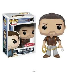 Uncharted 4 A Thief's End Nathan Drake Funko Pop Vinyl Figure 88 New In Box