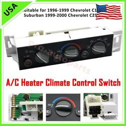 A/c Heater Climate Control For 1996-2000 Chevy Suburban Tahoe Gmc Yukon 9378805