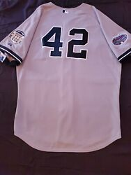 Authentic Majestic Mariano Rivera 2008 On Road Yankees Jersey