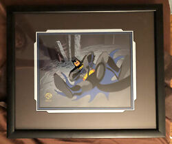 Batman Animated Series Animation Production Cel 1993 Cape And Cowl Conspiracy