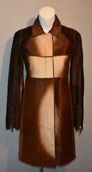By Tom Ford Ponyhair Leather Jacket Coat