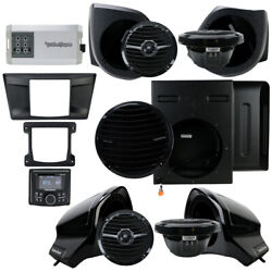 Rockford Fosgate Yxz-stage5 Stereo, Sub, Front Lower And Upper Speakers Yamaha Yxz