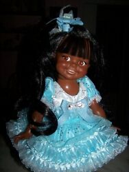 Ideal Giggles African American Aa Doll Stunning