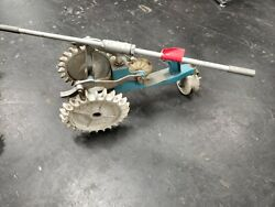 Vintage Sears Roebuck's Cast Iron Lawn Tractor Sprinkler Antique