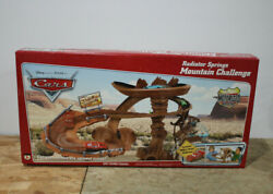 Disney Pixar Car Radiator Springs Mountain Challenge Playset Willy Butte Mcqueen