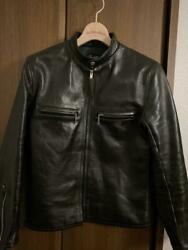 Buco Real Mccoyand039s Leather Riders Jacket Blouson J-100 Horsehide 36 From Japan