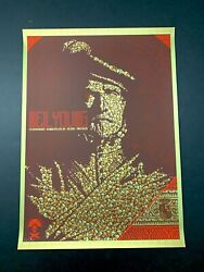 Neil Young Upper Darby 2007 Cortex Killer Rare Todd Slater Signed Print /200