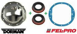 Cover Gasket And Seal Rear Lh And Rh Kit For Chevy Gmc Hummer 8.5 8.6 Gm Aam Axle