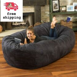 8 ft Adult Bean Bag Chair Giant Large Dorm Furniture Sofa Lounge College Couch