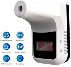 Infrared Thermometer No Contact Wall Mount Or Stand