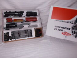 American Flyer 20420 Freight Train Set In Nice Reproduction Box Lot M-101