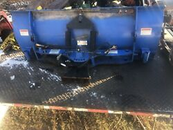 New Holland 60chb Boomer Workmaster 60 5ft Hydraulic Tractor Snow Plow