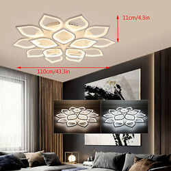 15head Modern Ceiling Light Led Acrylic Lamp Chandeliers For Living Room Bedroom