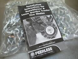 Maxtrac Peerless Tire Chains 18 X 850 X 8 Lawn And Garden Tractors And Snow Blower