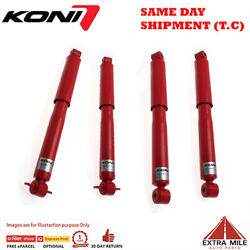Koni Adj Front And Rear Shock Absorbers For Land Rover Discovery Series 2 99-04